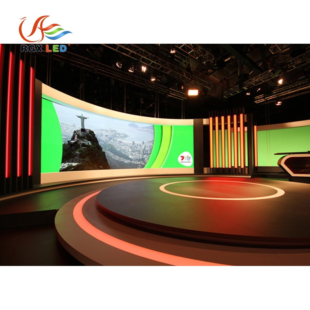 Led TV Display Panel TV Station Stage Studio Led Display Advertising Indoor Outdoor Led Large Screen Display