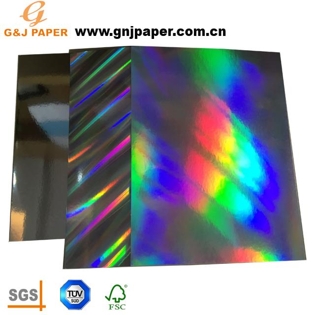 2018 Nuovo Prodotto Metallico Olografico carta di Bordo per il Confezionamento