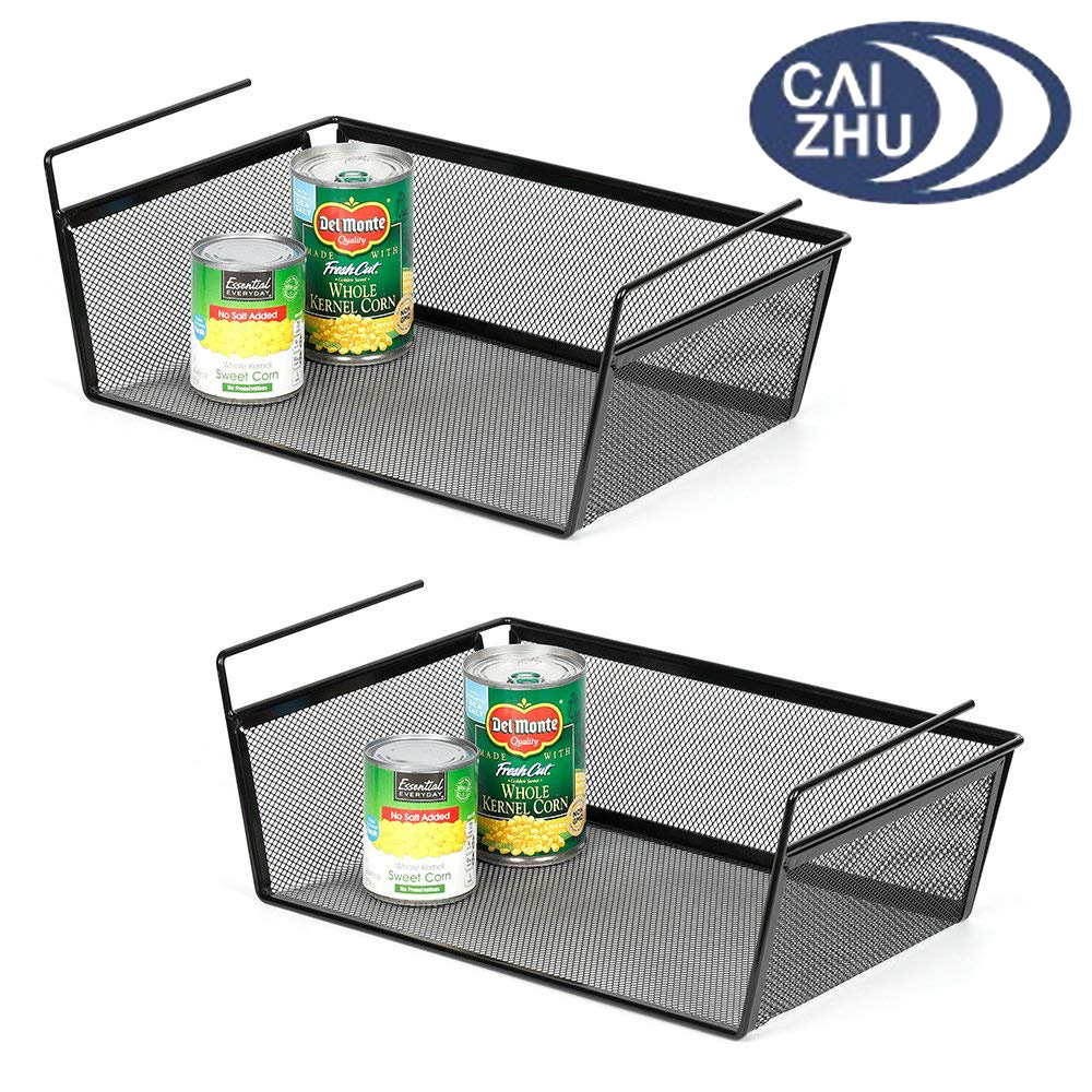 2 Pack Under Cabinet Hanging Storage