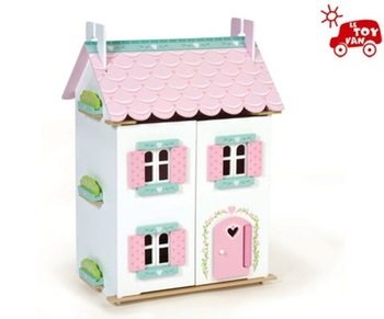 Unique Pretend Play Detailed Small Wooden Doll House Buy Fashion