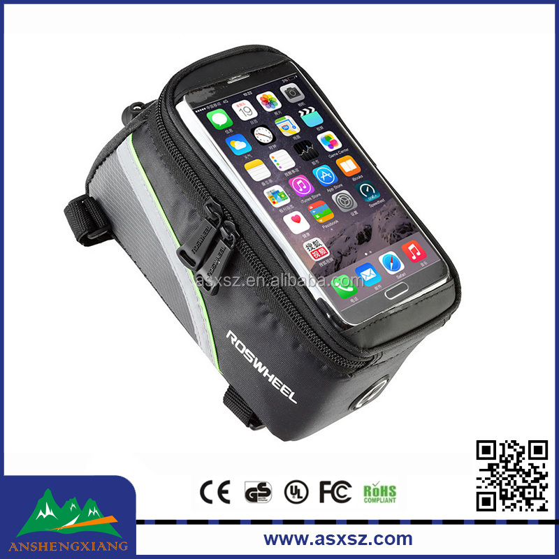 New Style Outdoor Cycling Waterproof Bike Bag With Mobile Phone Screen Touch Bike Accessories