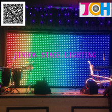 Soft LED Video Wall / Flexible LED Curtain P100 Display