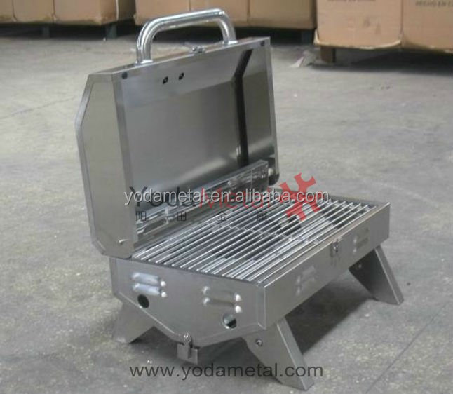 2014 YODA Stainless Steel Dual Barbecue Grill