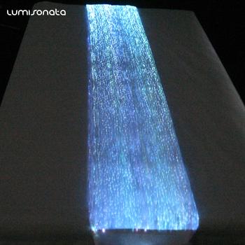 Luminous Fiber Optic Fabric Placemats