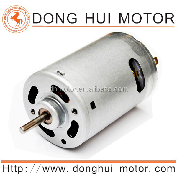 7.2v brushed motor for air pump rc rs 540 moteur