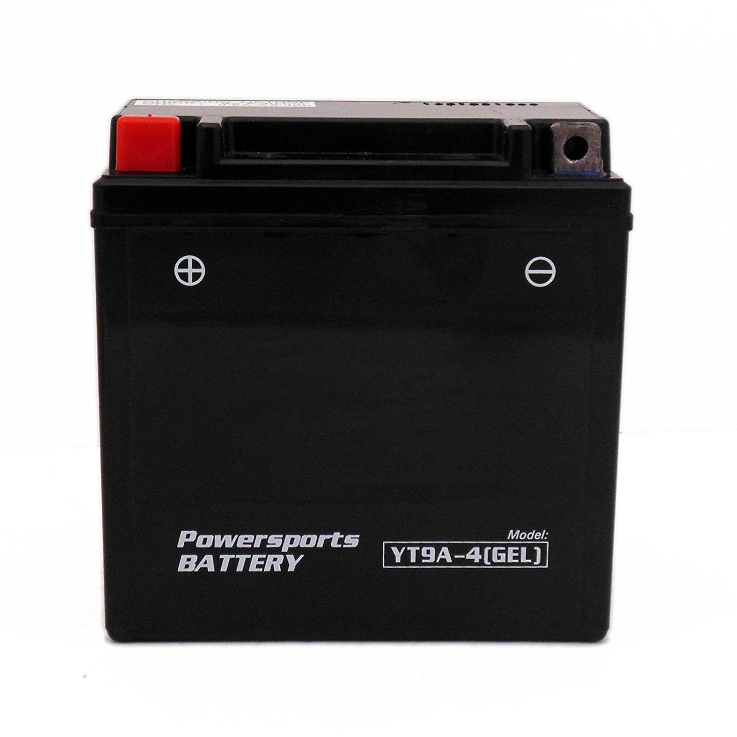 MMG YT9A-4 GEL CELL Powersports Battery – Factory Sealed, Maintenance Free - Replaces: YB9-B, YT9A-BS, 12N9-AB, YT9A