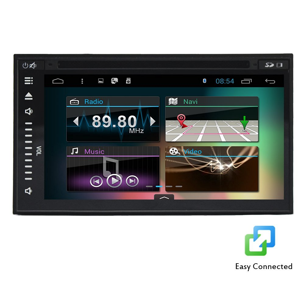 Christmas Sale!!! RDS HOT 7 inch Android Motors 4.4.4 All touch Tablet Car Stereo Logo Radio Audio Quad Core Capacitive Multi Electronics touch Screen Car DVD Player BT with GPS Navi WIFI inte