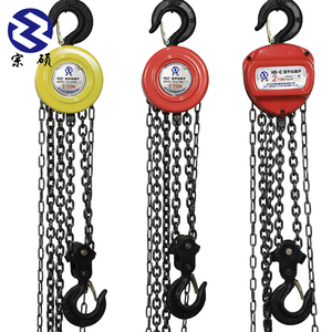 Portable rachet manual hoist pulley system 3 ton chain block with 6 meters  lifting chain