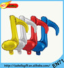 Music note shape foil balloon for party decorate