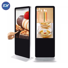 Gevoelige Touch Fhd 55 Inch Floor Stand Digitale <span class=keywords><strong>Oem</strong></span> Hd Lcd Ad Display
