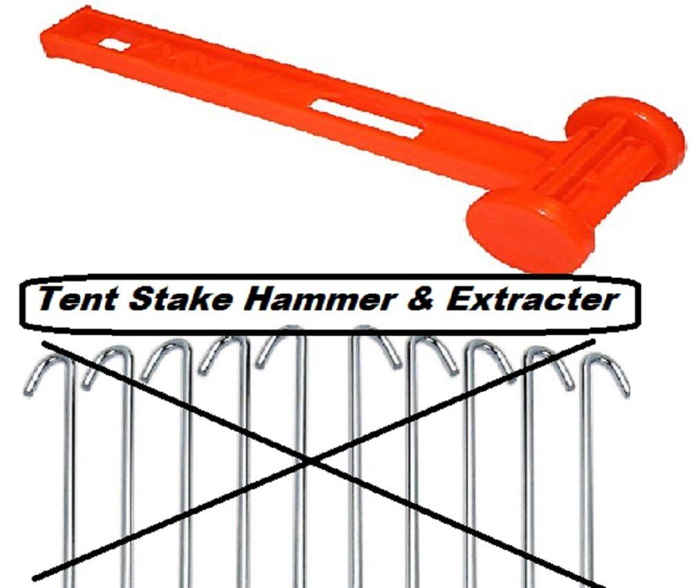 Get Quotations · Tent Peg Hammer Mallet With Peg Remover/Extractor - 10 Inch Rust Resistant Peg Driver  sc 1 st  Alibaba & Cheap Hammer For Tent find Hammer For Tent deals on line at ...