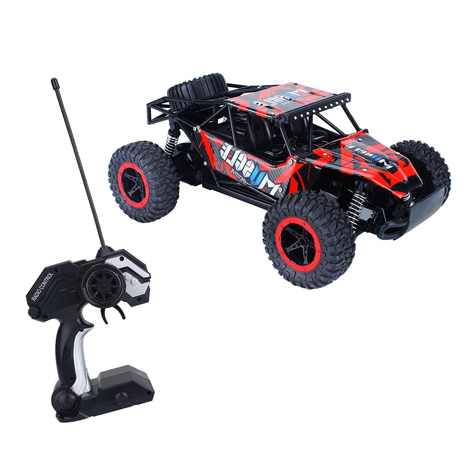 Get Quotations Offroad Vehicle Roofull New Rc Remote Control Car Toys 1 16 Scale 2wd High Sd