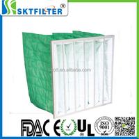 rigid pocket bag filter for spray booth paint shop