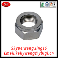 OEM Carbon Steel Self Locking Hex Nut Nylon Insert Lock Nut M2/M2.5/M3/M4/M5/M6/M8