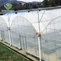 The Cheapest Hot Sale Sainpoly Agricultural/Commercial/Industrial Plastic Film Greenhouse