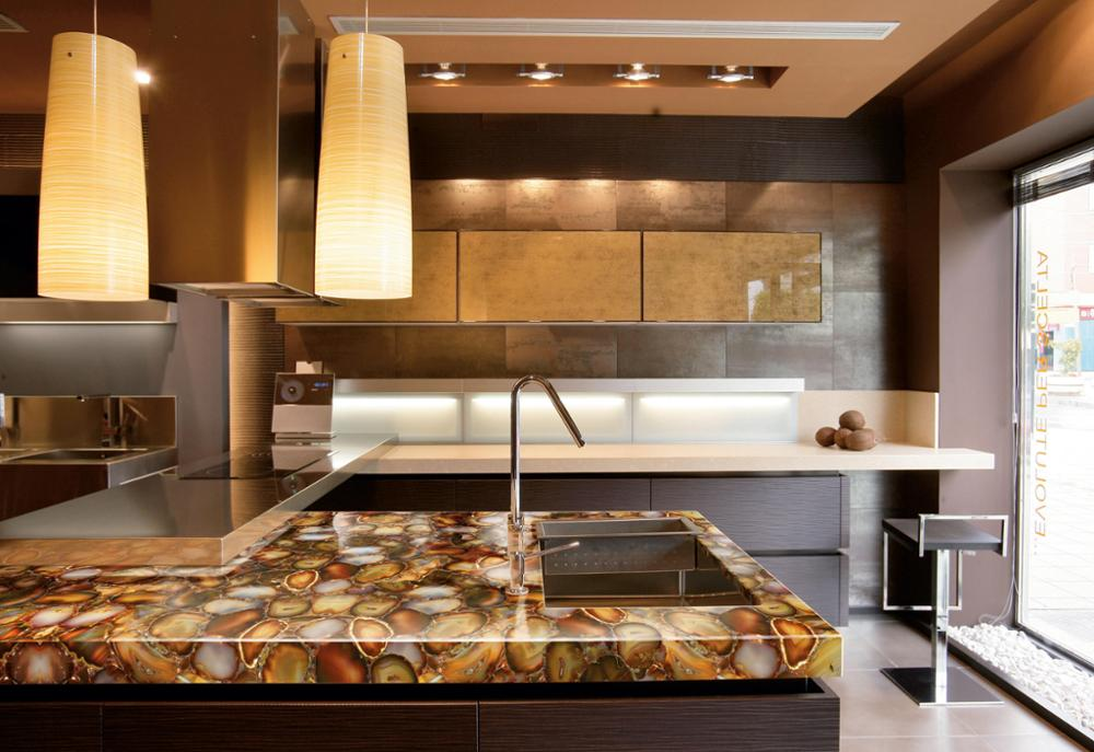 Awesome Agate Countertops Inspiration Translucent Agate Countertop