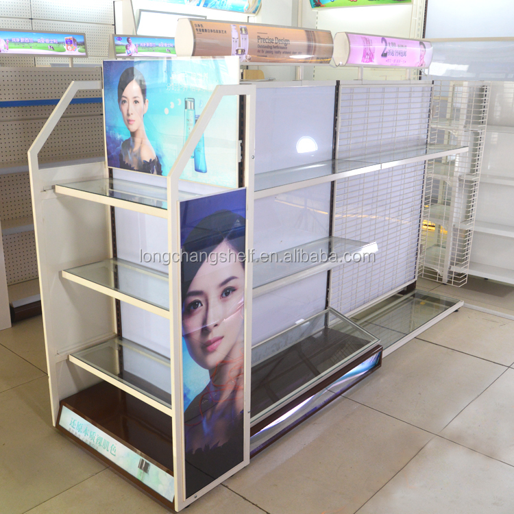 Makeup Stand Designs : Customized tabletop designs gondola shelf makeup cosmetic display