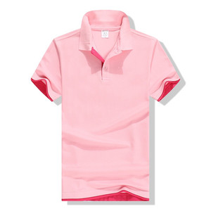 promo fashion 100%cotton new design man Stripe polo shirt