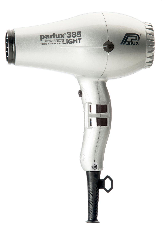 Parlux 385 Powerlight Ionic & Ceramic Silver Hair Blow Dryer