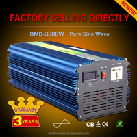 Innovative 3000w 2000w 12v 24v dc 220ac rechargeable power inverter industial use