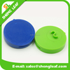 Round special plastic usb flash drive