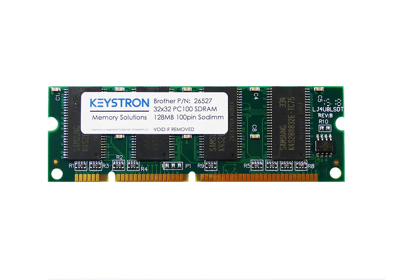 128MB 100pin PC100 SDRAM DIMM Printer Memory for Brother DCP-8020, DCP-8025D, DCP-8025DN, DCP-8040, DCP-8045, DCP-8045D, DCP-8060