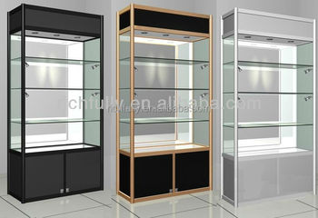 Gl Display Cabinets Commercial Jewelry Cabinet Trade Show Stand