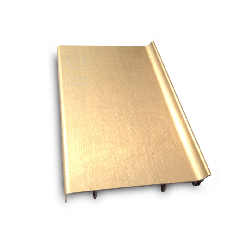 Durable Anti Corrosion Polished Aluminum Skirting Board for Wall Protection