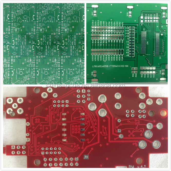 OSP, 94v0, competitive rigid pcb and pcba design, pcb copy for android board with lvds output