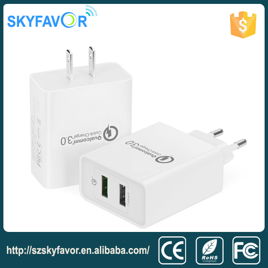 Practical cheapest Travel USB QC3.0 Charger for LG nokia phone