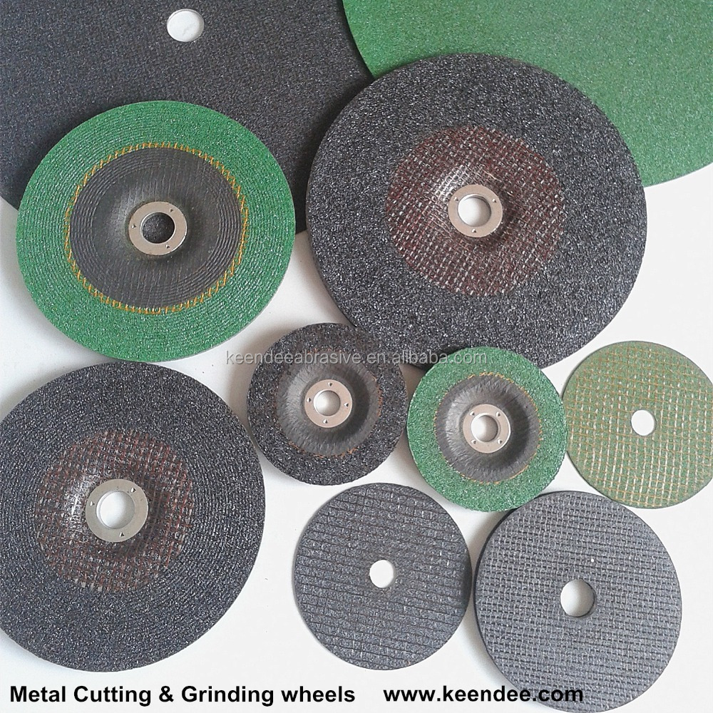 Abrasive grinding wheels / discs for metal rough polishing