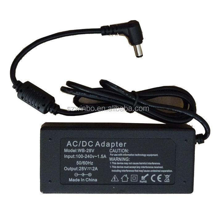 Low cost high quality 28v 400ma 2a ac/dc power adapter power supply with ocp ovp