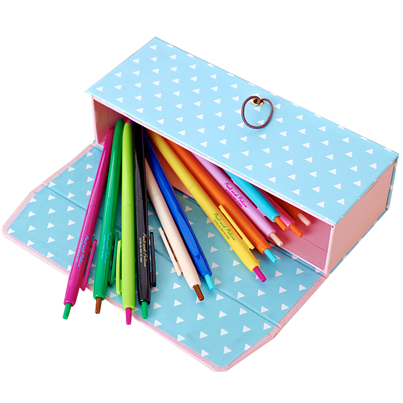 Personalized Kids Use Cardboard Pencil Box Buy Personalized Kids