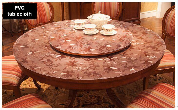 achetez en gros transparent cristal pvc nappe en ligne des grossistes transparent cristal pvc. Black Bedroom Furniture Sets. Home Design Ideas