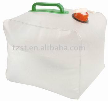 10L pvc collapsible pvc water carrier/water container