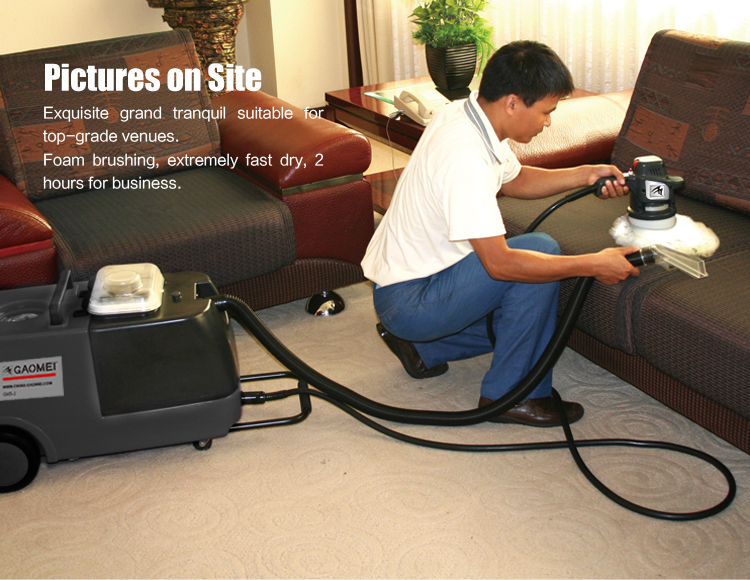 Automatic Dry Foam Cleaning Machine For Upholstery Sofa