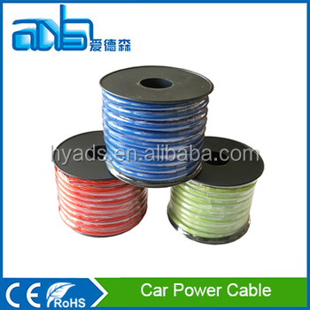 Good Quality Colored Cable Car Electrical Wire - Buy Colored Cable ...