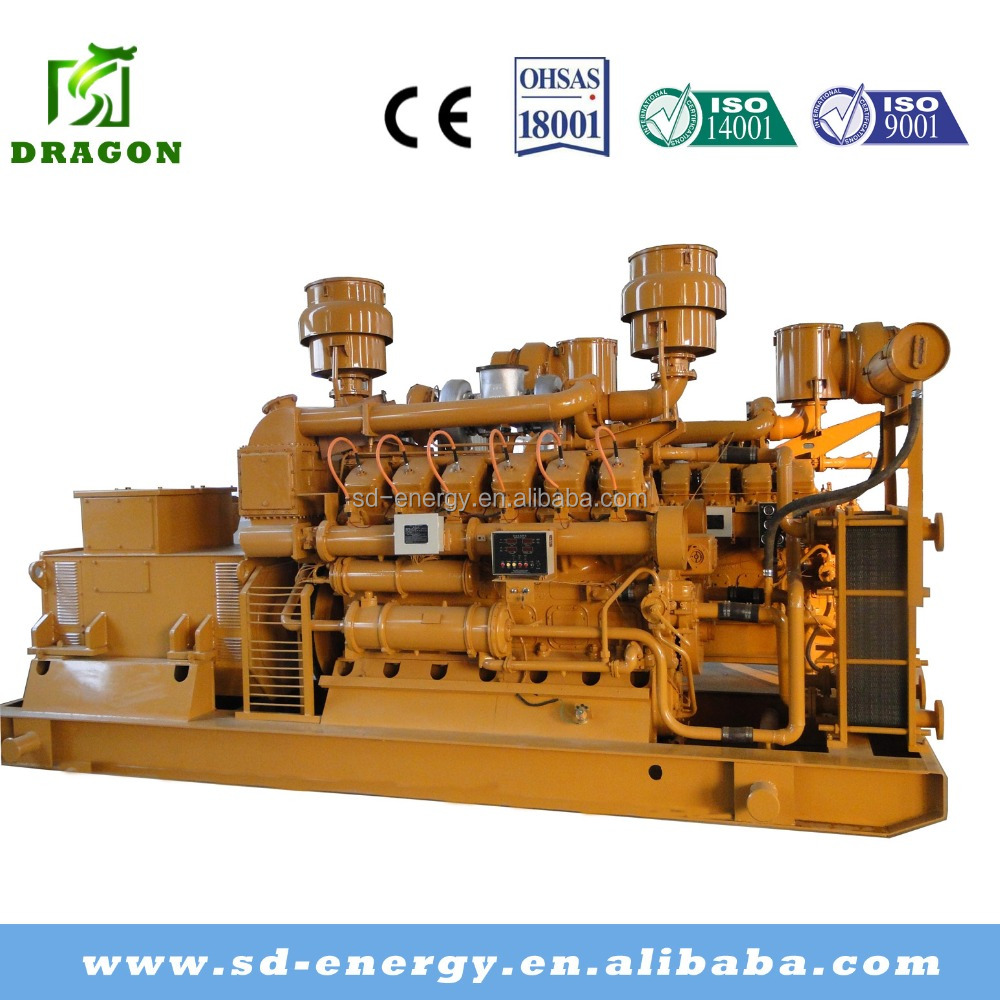 Al por mayor 600kw pizarra gas generador waukesha - Generador de gas ...
