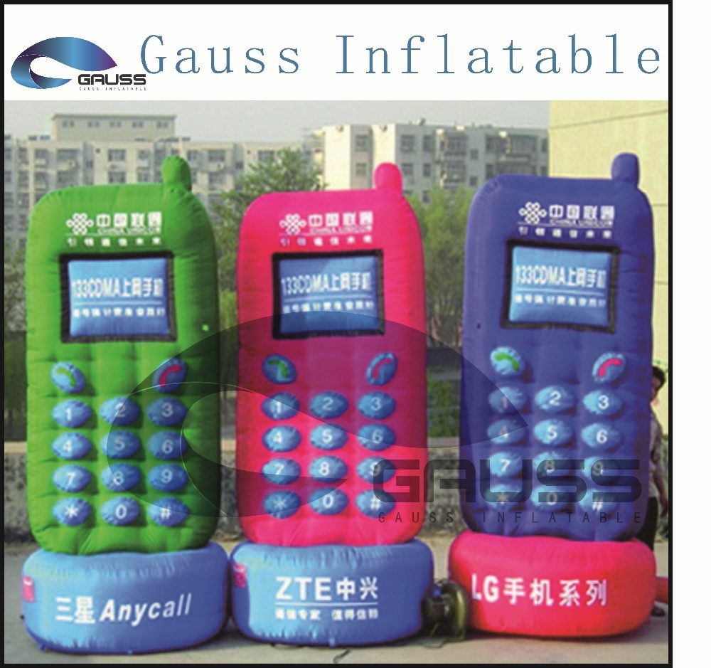 inflatable phone model