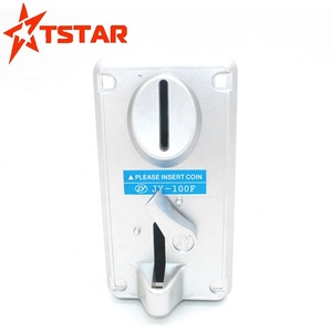 Programable vertical intelligent multi coins acceptor with credit card for  slot machine