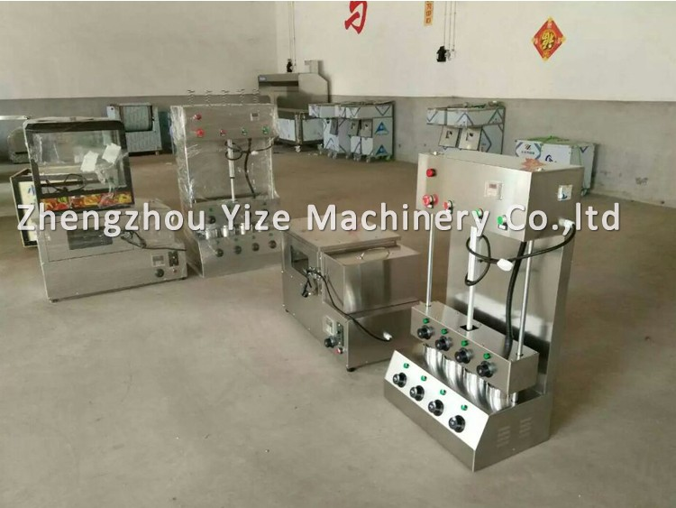 Electric pizza dough roller machinecone pizza machinemachine to make pizza (55).jpg