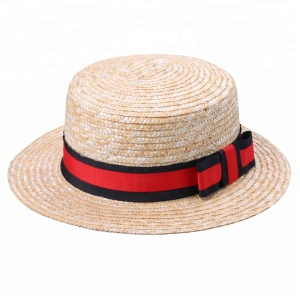 c8a3071c0014f Straw Boater Hat