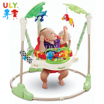 Hot selling rainforest jumperoo baby walker toddler baby jump chair