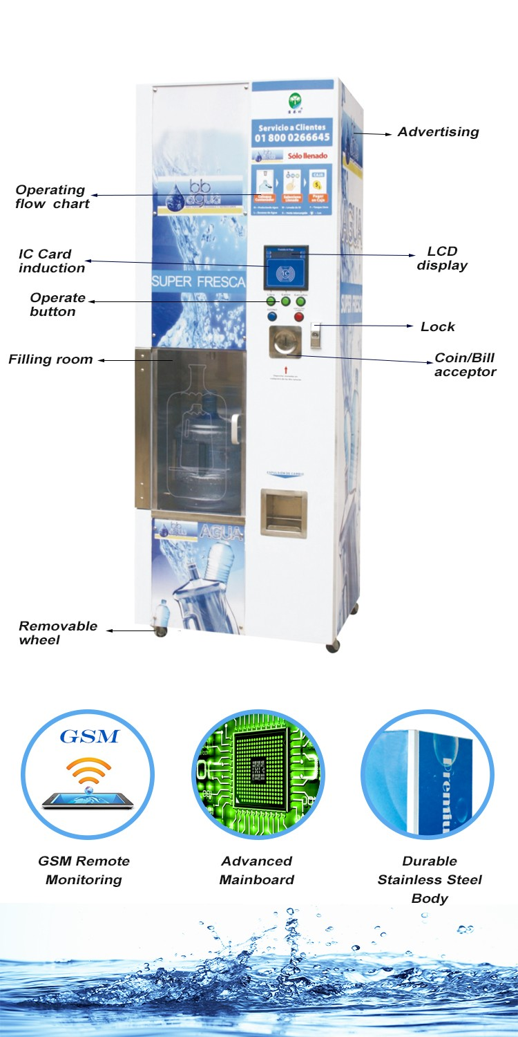 Cold Water Refill Station Vending Machine Buy Price Of