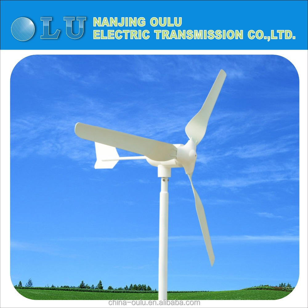 portable wind turbine generator 600W 24V 48V
