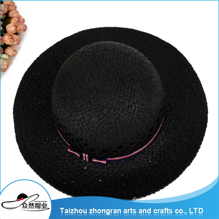 Gold Supplier China Export Ladies Beach Hat High Quality Wide Brim Straw Hat