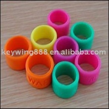 Printed or Debossed kids silicone thumb ring
