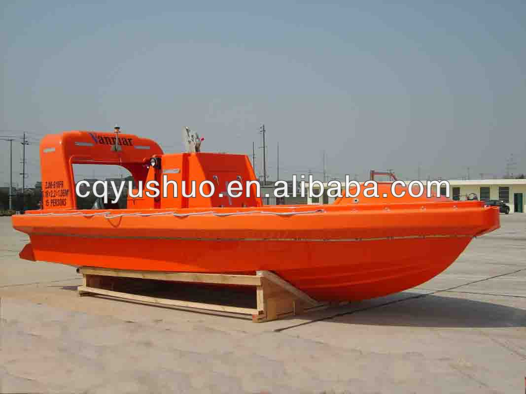 Marine Solas Approved Frp Fast Rescue Boat