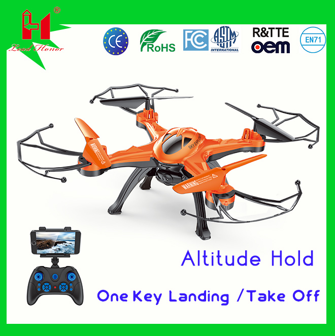 High quality wholesale 2.4G rc aircraft remote control quadcopter drone racing for sale