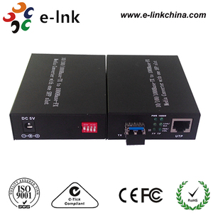 Giga SFP Media Converter for 10/100/1000M Gigabit Network, with LC Connector SFP